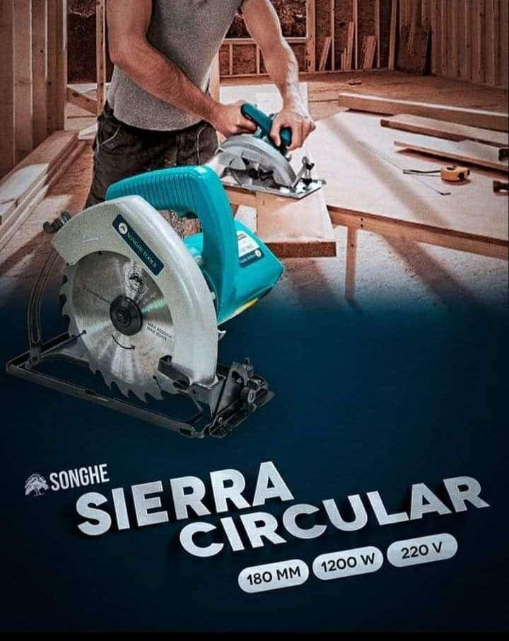 Sierra circular para madera profesional - 0