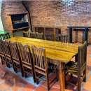 Juego de comedor con 12 sillas de tajy - 0