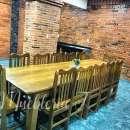 Juego de comedor con 12 sillas de tajy - 1