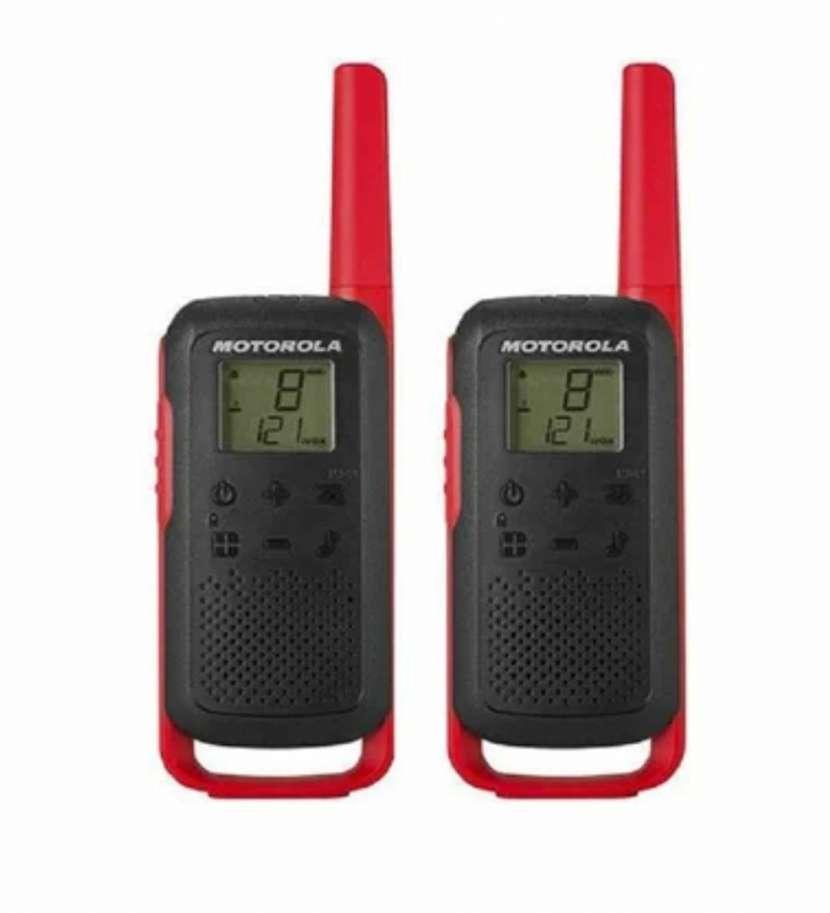 Walkie talkie Motorola T210 recargable - 2