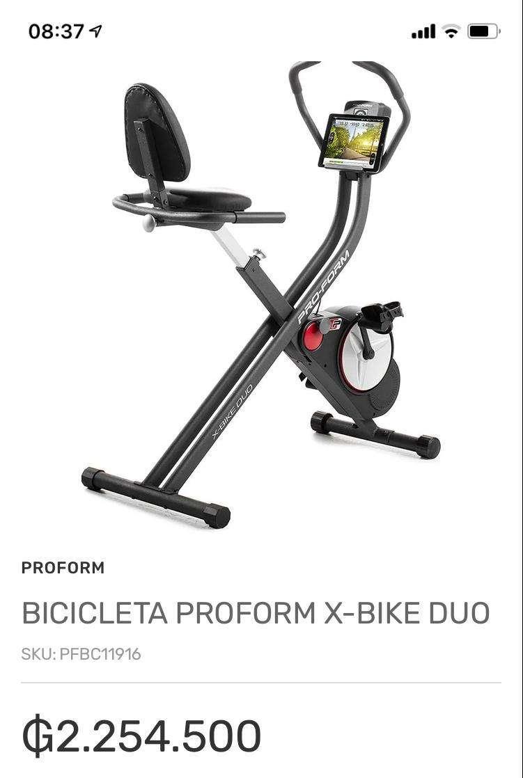 Bicicleta estática Proform - 2
