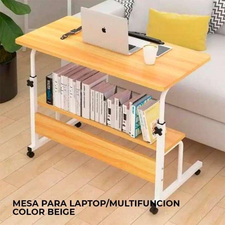 Mesa para laptop/multifunción color beige (4098) - 0