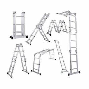 Escalera articulada 16 peldaños