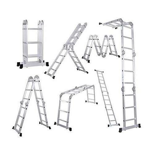 Escalera articulada 16 peldaños - 0