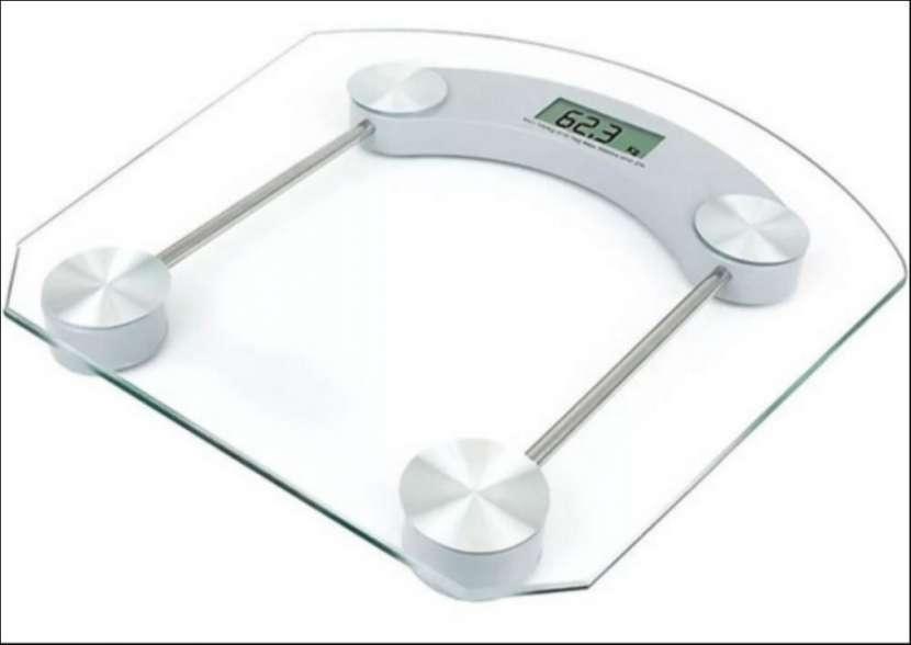 Balanza digital de vidrio aguanta 180 Kg - 0