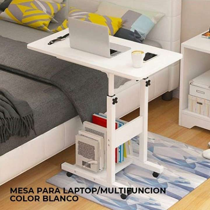 Mesa para laptop multifunción color blanco (4006) - 0