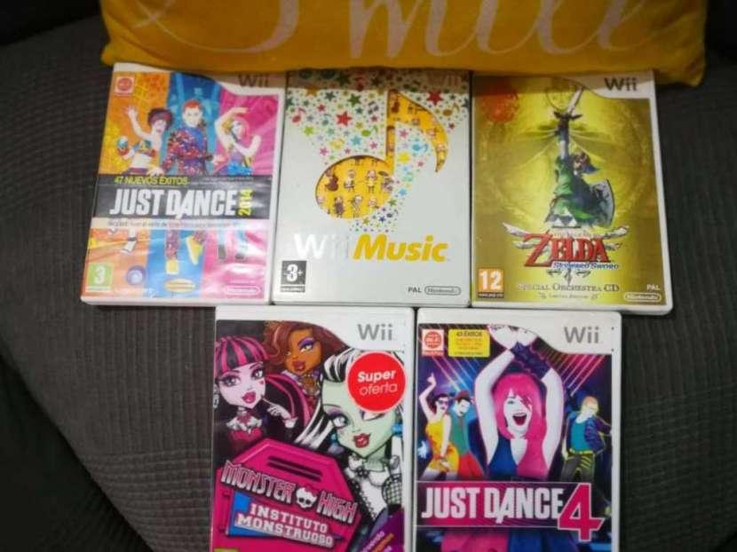 Nintendo Wii negro - 1