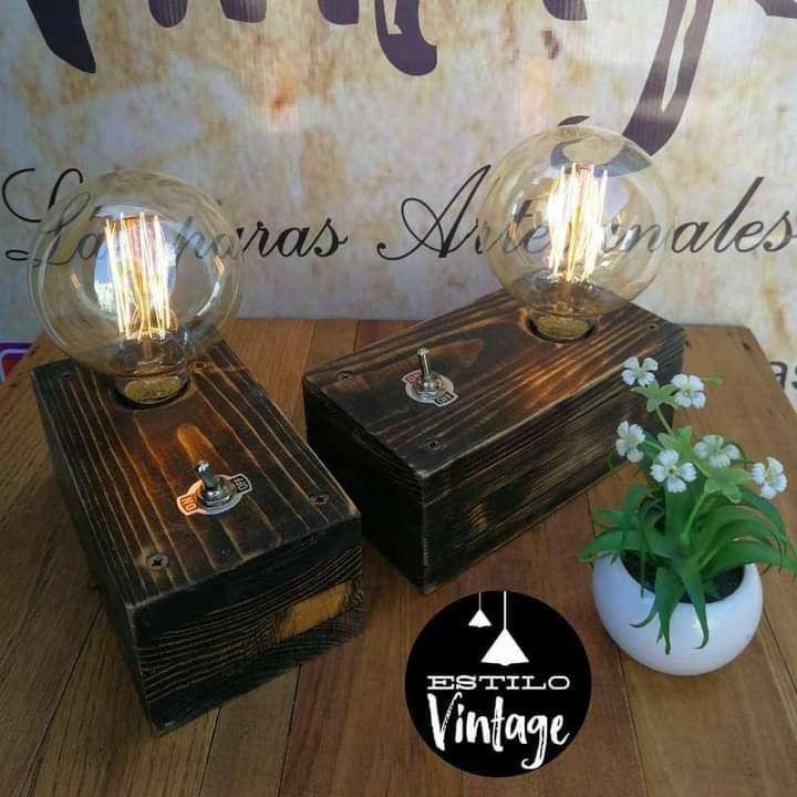 Lámpara Vintage - 0