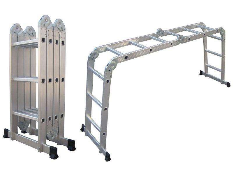 Escalera Articulada de 12 peldaños: - 0