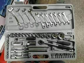 Juego de llaves tubos profesional de 63 piezas