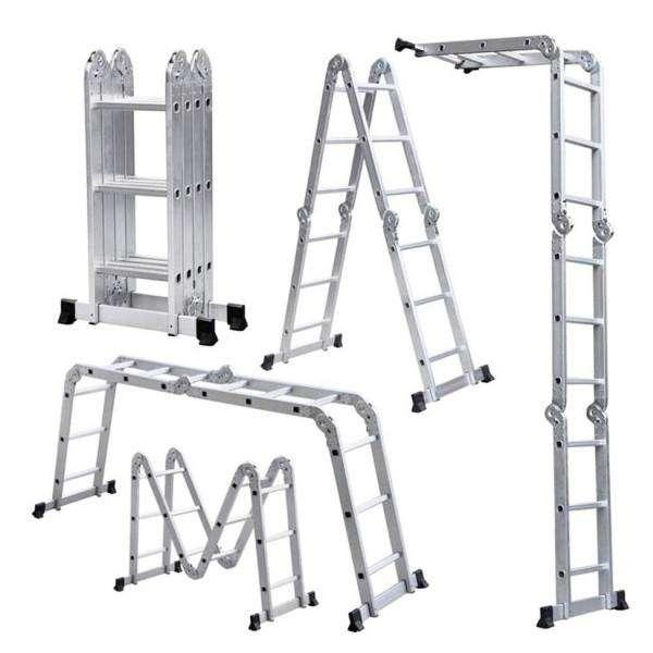 Escalera Articulada de 12 peldaños: - 1