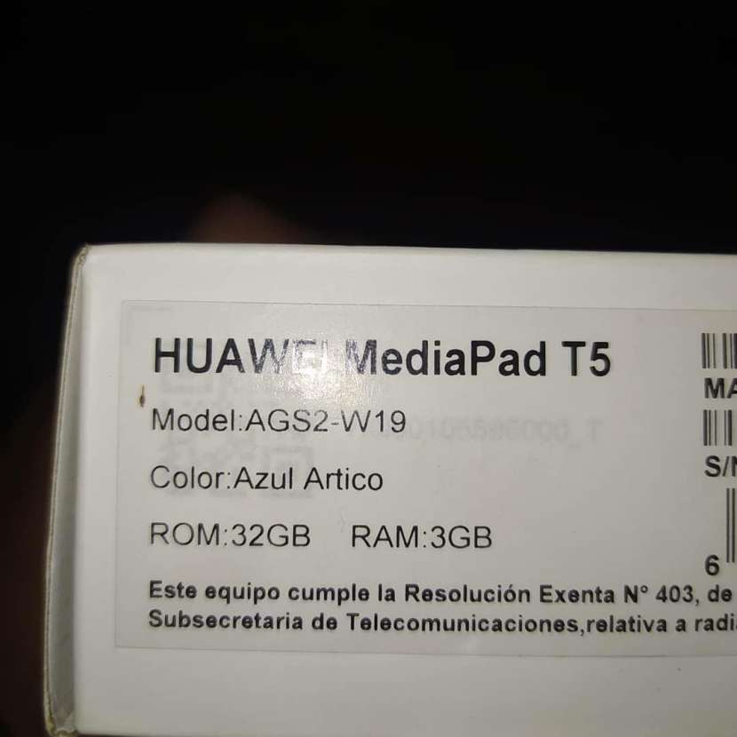 Tablet Huawei Mediapad T5 10.1 pulgadas - 2