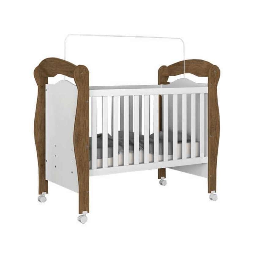 Cuna mini-cama pimpão j&a jequitibá blanco (30353) - 1