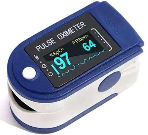 Oxímetro de pulso Disponible - 0