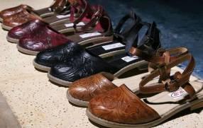 Zapatos artesanales de cuero