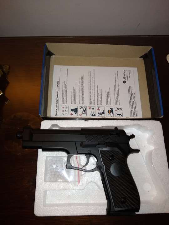 Pistola de airsoft a resorte de 6 milímetros - 3
