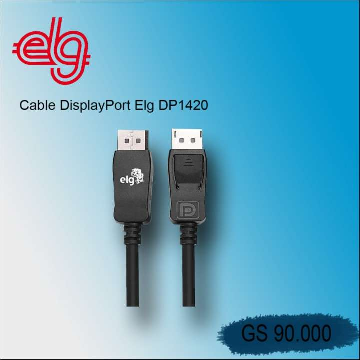 CABLE DisplayPort Elg DP14 - 0