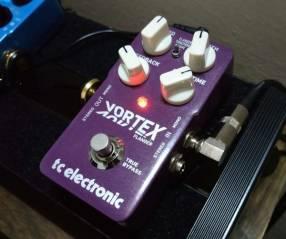 Pedal Flanger p/Guit. Eléctrica TC Electronic Vortex Flanger