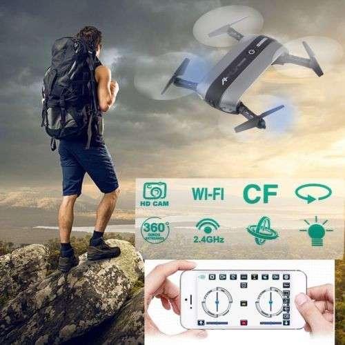 Drone wifi A-Fly pocket 6 ejes filmadora HD 720p - 6