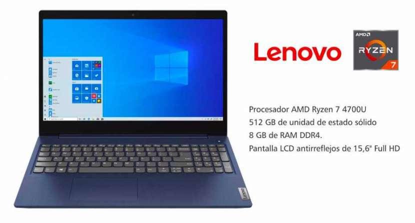Notebook Lenovo Blue Ryzen 7 - 0