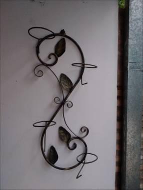 Porta plantera artesanal