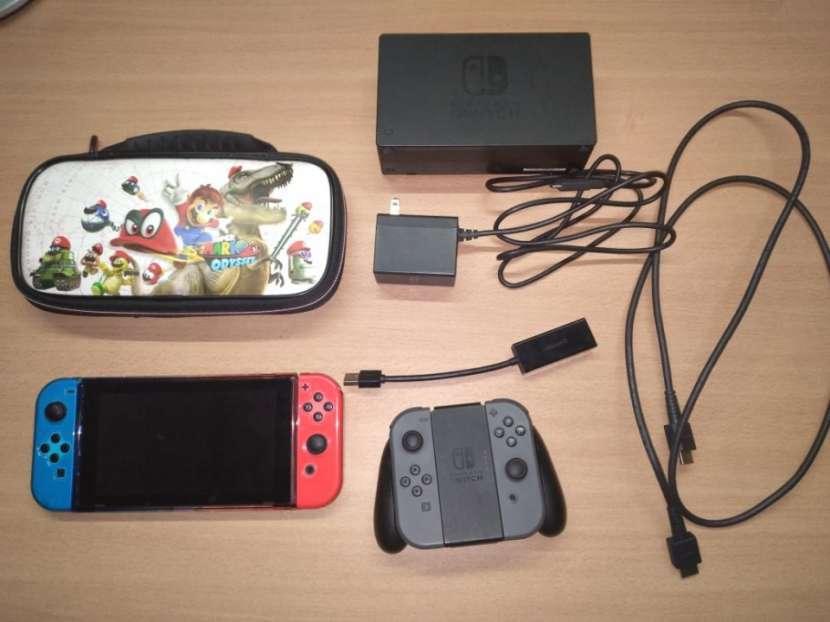 Nintendo Switch - Con 4 Juegos - 0
