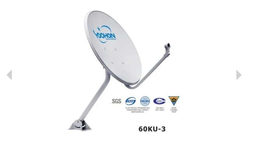 Paquete completo de antenas parabólicas - 0