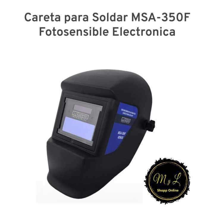 Careta para soldar MSA-350F - 0