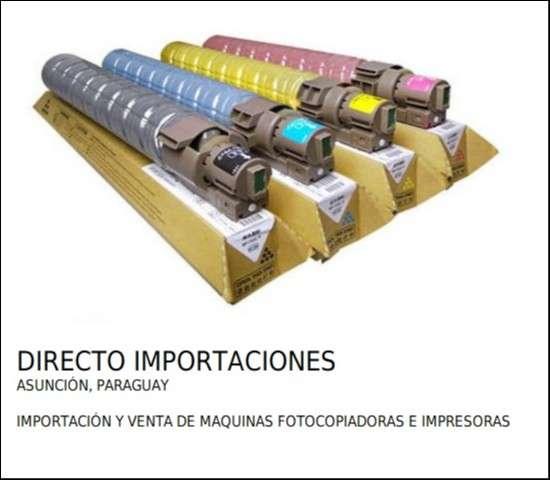 Tóner en cartucho para uso en fotocopiadoras e impresoras - 1