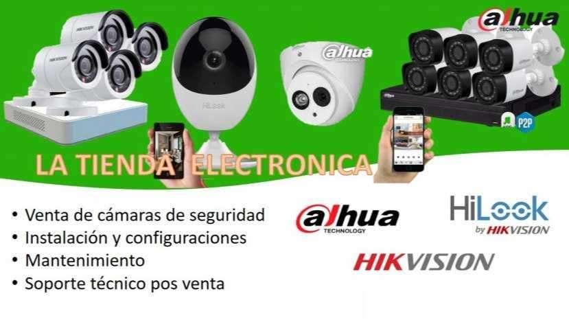 Cámaras de vídeo vigilancia - 0