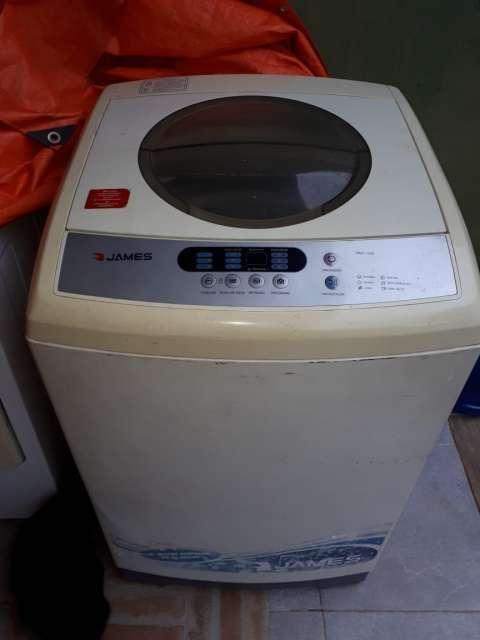 Lavarropas automática James - 0