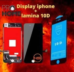 Cambio de display iPhone + lámina