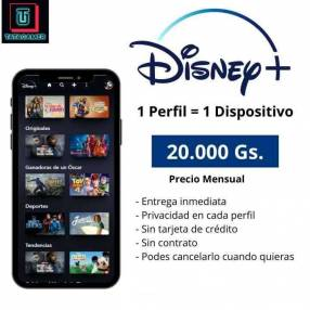 Cuenta Disney Plus
