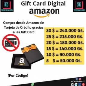 Gift Card de Amazon