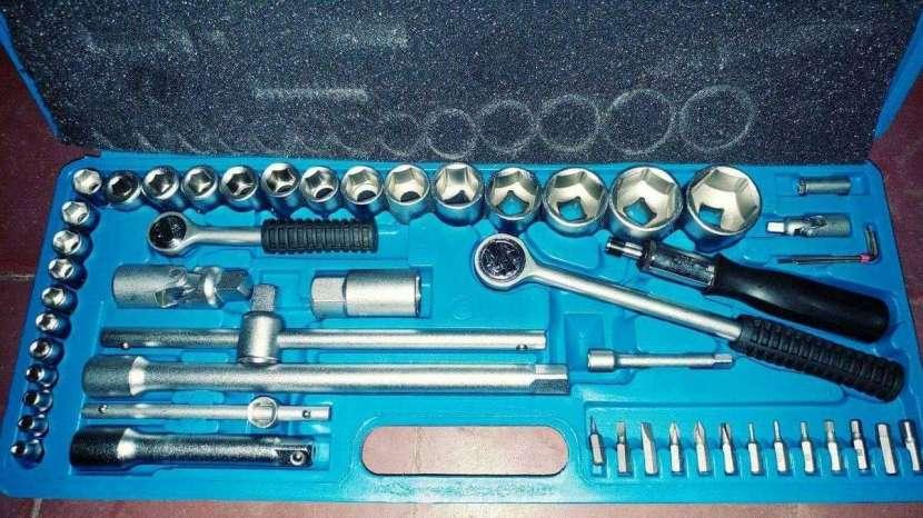 Juego de llaves tubos profesional de 52 piezas - 2