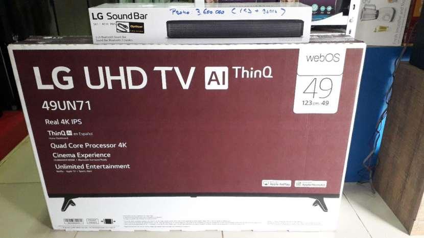 Smart TV 4K LG 49 pulgadas - 0