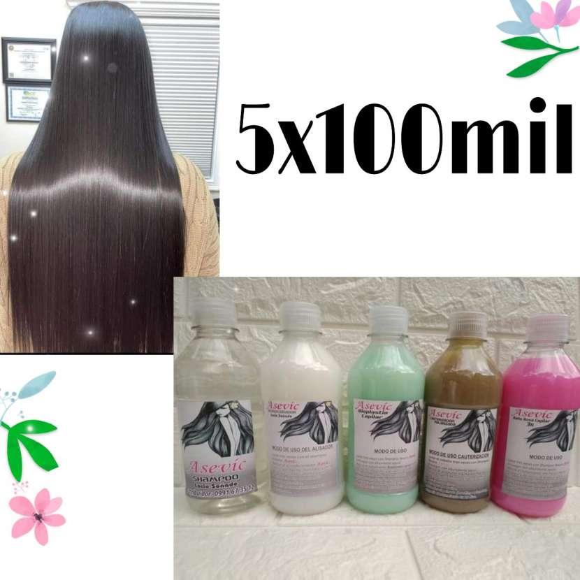 Kit para cabello lacio perfecto - 0