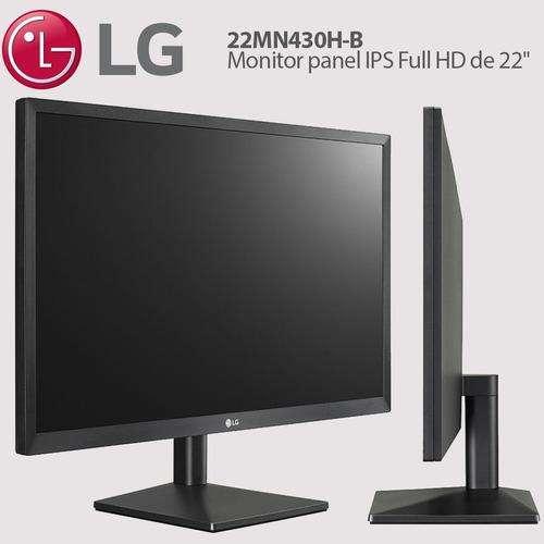 Monitor LG 22 pulgadas 22MN430H-B FHD - 0