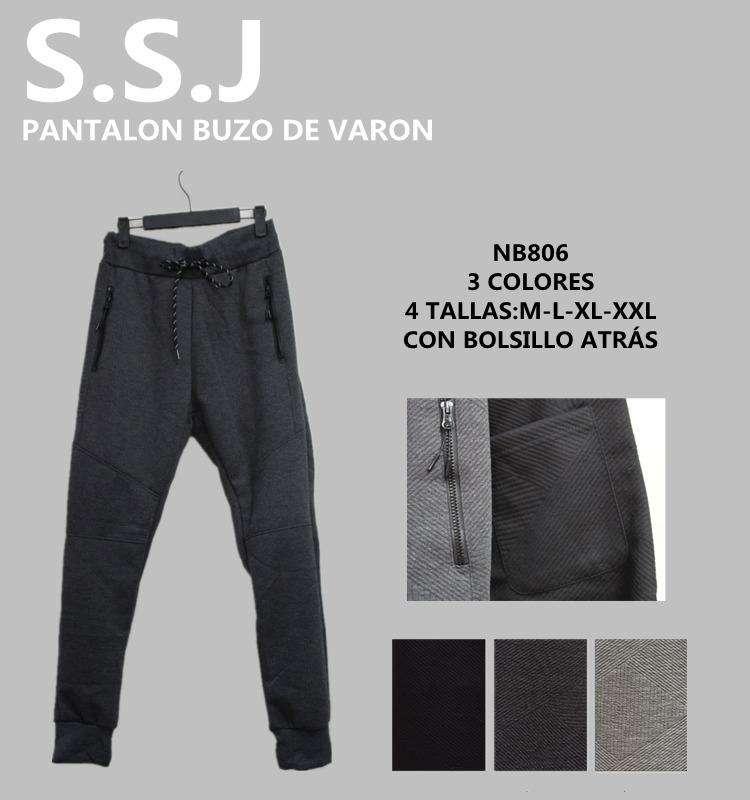 Pantalon buzo para caballeroTalle M al XXL - 0