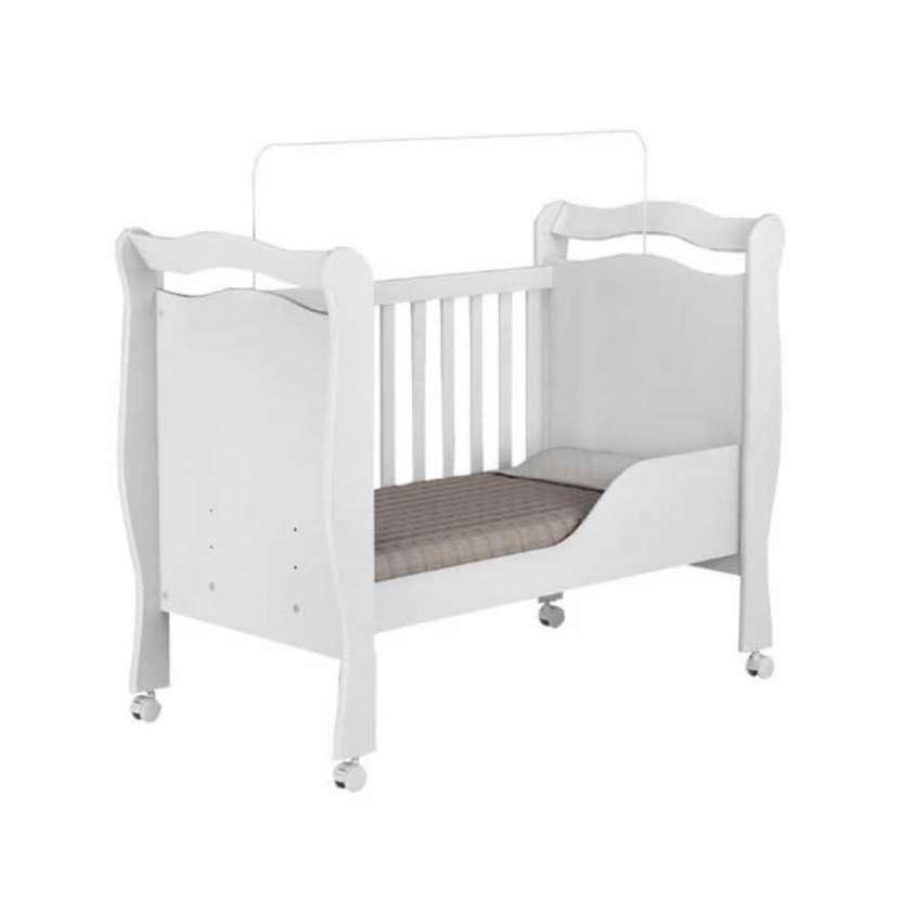 Cuna mini-cama alvin j&a blanco (30357) - 0