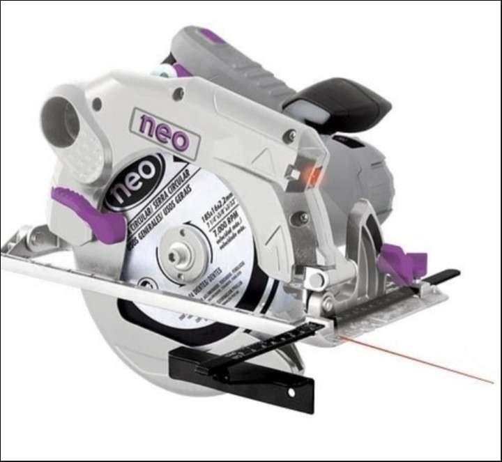 Sierra con laser - 0