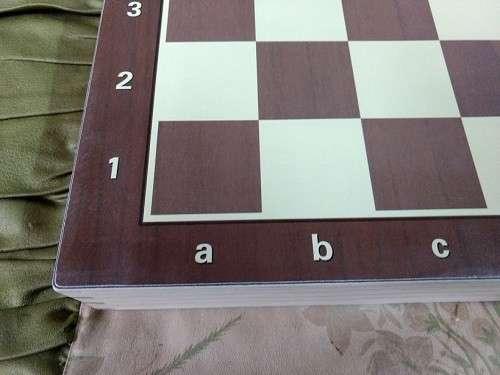 Juego de ajedrez magnético de madera 39x39 cm - 2