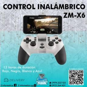 Control inalámbrico zm-x6