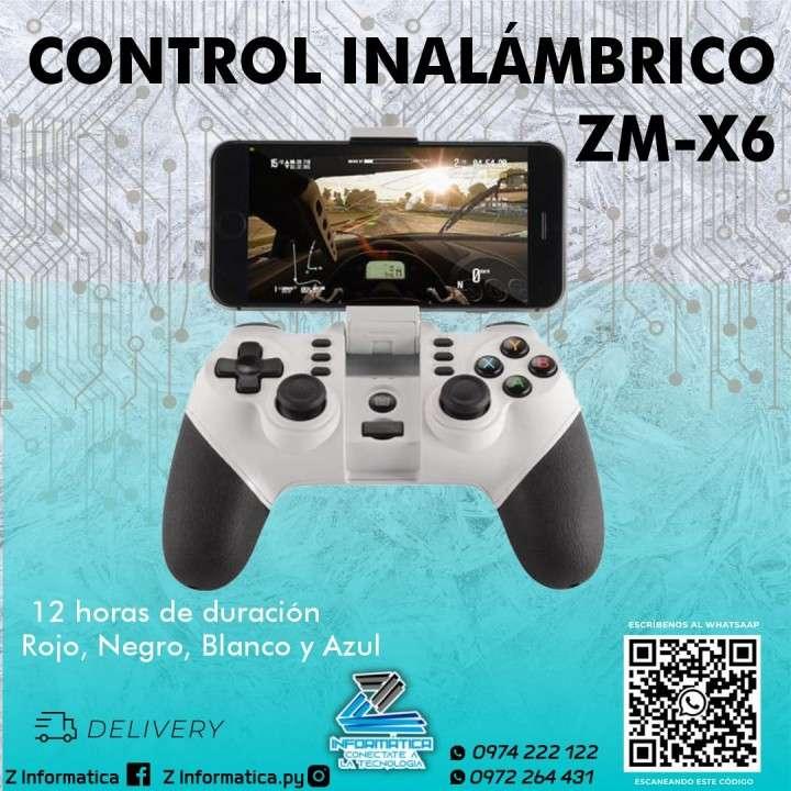 Control inalámbrico zm-x6 - 0