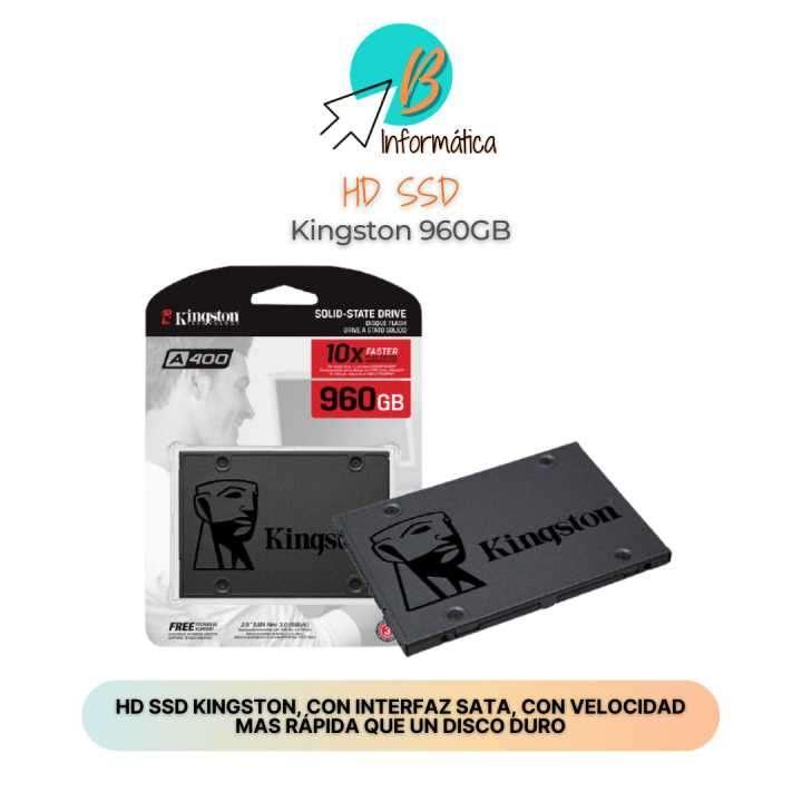HD SSD 960GB Kingston - 0