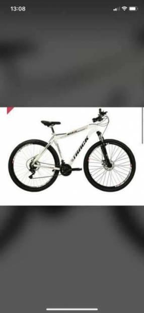 Bicicleta Track de color blanco aro 29