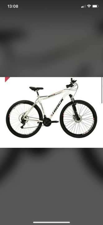 Bicicleta Track de color blanco aro 29 - 0