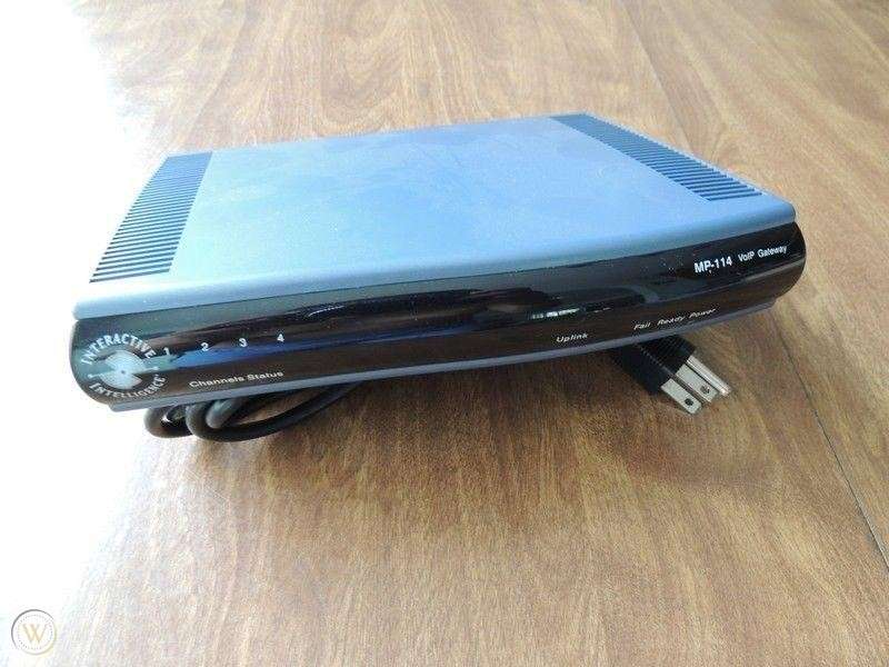 AudioCodes MP-114 VoiP Gateway - 0