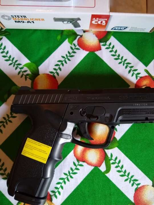 Pistola a gas Co2 calibre 4.5 - 1