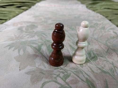 Juego de ajedrez magnético de madera 39x39 cm - 8